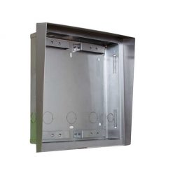 2N Helios Vario - 9135362E - Flush Box with Roof for 2 modules