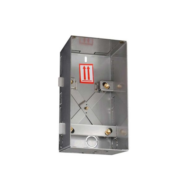 2N Helios - Flush mount box for brick for IP Force/Safety (comes with black frame for IP Force) (9151001)