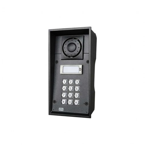 2N Helios IP Force - 1 button and Keypad (9151101K)