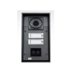 2N Helios IP Force - 2 buttons & camera (card reader ready) (9151102CR)