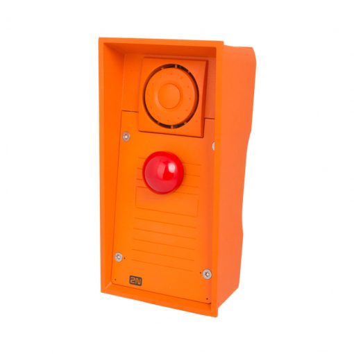 2N Helios IP Safety - Red Emergency  button & 10W speaker (9152101MW)