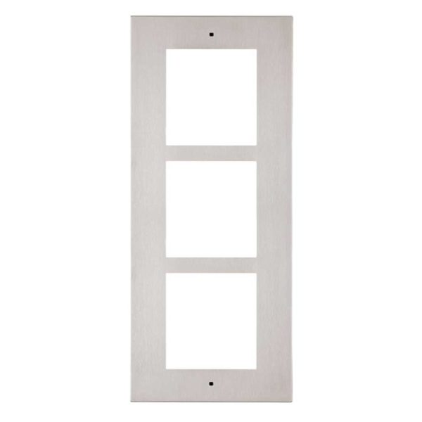 2N Helios IP Verso - Flush Installation Frame for 3 modules (9155013)