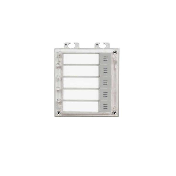 2N Helios IP Verso - 5 button module (9155035)