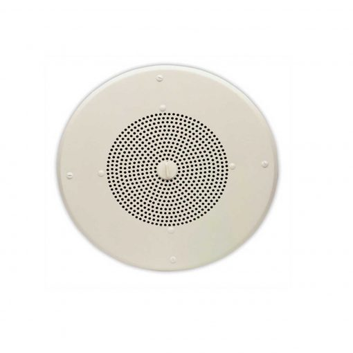 "Valcom IP Ceiling Round 8"" Speaker White (VIP-120A-IC)"