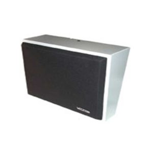 Valcom IP Wall Speaker Assembly Gy w/Black Grille (VIP-410A-IC)