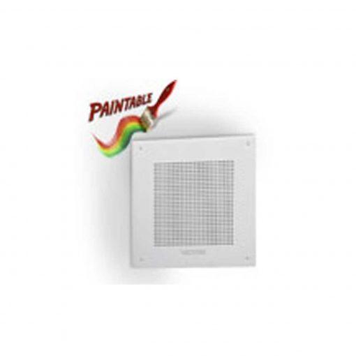 "Valcom 8"" IP Square Faceplate Speaker (White) (VIP-418A-IC)"