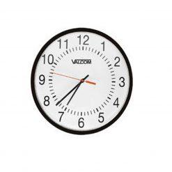 "Valcom - 12"" Analogue Wired Clock (V-A2412)"
