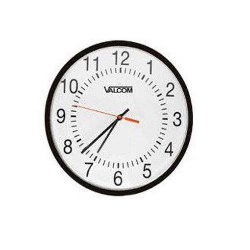 "Valcom - 12"" Analogue Wired Clock (V-A2412)"