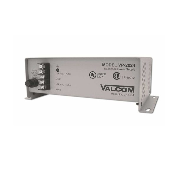 Valcom Commercial Wall Mount Power Supply -24vdc