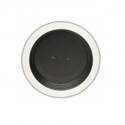 "Valcom 4"" Recessed Speaker w/Mount Ring and Rails (V-1011-MR)"