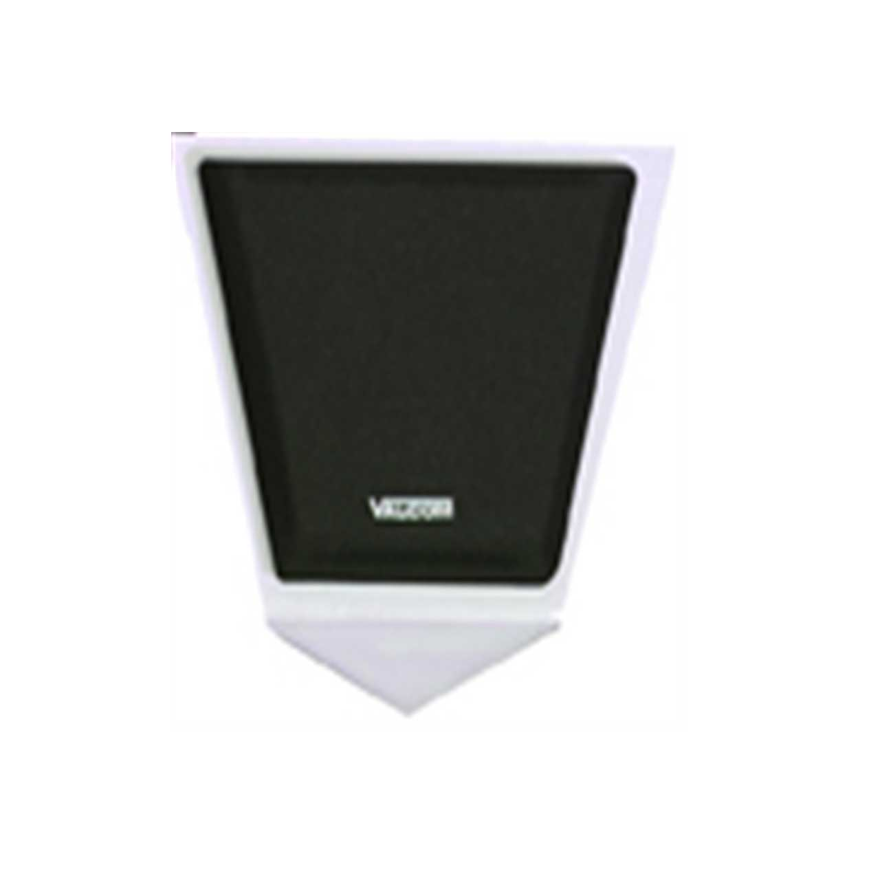 valcom corner wall speaker  talkback  metal  v