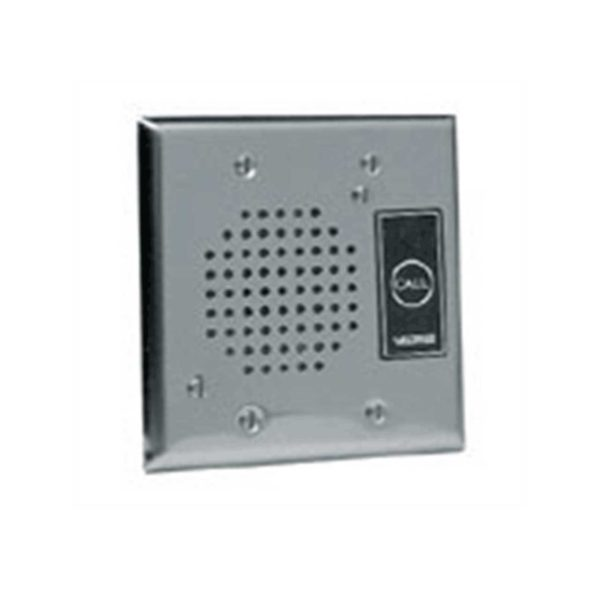 Valcom Flush Mount Doorplate Speaker (V-1072A-ST)