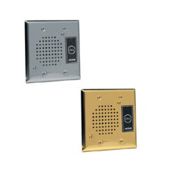 Valcom Flush Mount Doorplate Speaker (V-1072B)