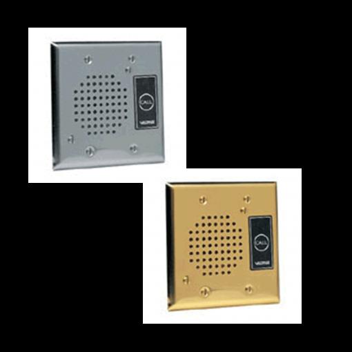 Valcom Flush Mount Doorplate Speaker (V-1072B)