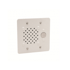 Valcom Doorplate Speaker Vandal-Resistant