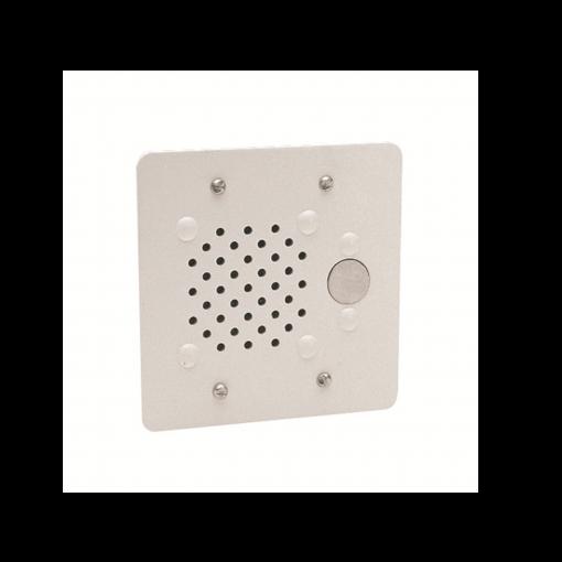 Valcom Doorplate Speaker Vandal-Resistant