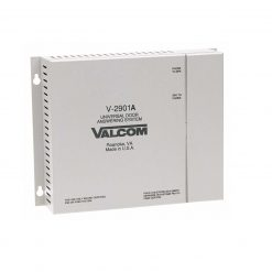 Valcom Single Door Answering Device - Enhanced - Activates Door Locks (V-2901A)