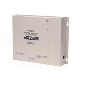 Valcom 4 Door Answering Device - Activates Door Locks (V-2904)