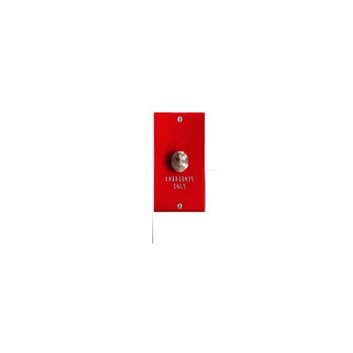 Valcom Emergency Call Switch (Red) (V-2976)