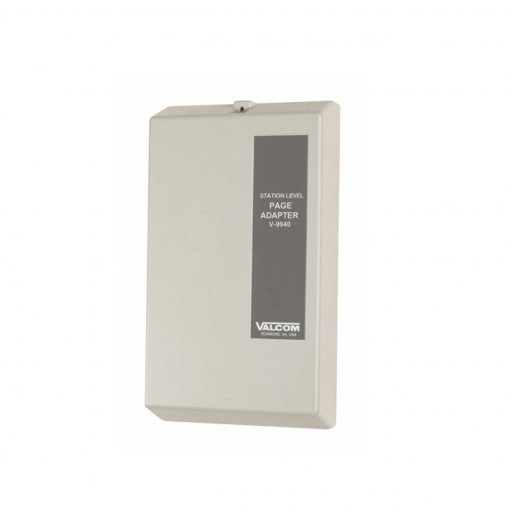 Valcom One-Way 1 Zone Extension Adaptor Interface Unit (No Dial Tone) (V-9940)