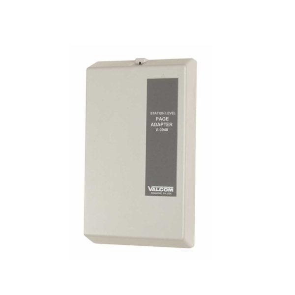 Valcom One-Way 1 Zone Extension Adaptor Interface Unit (No Dial Tone) (V-9940)