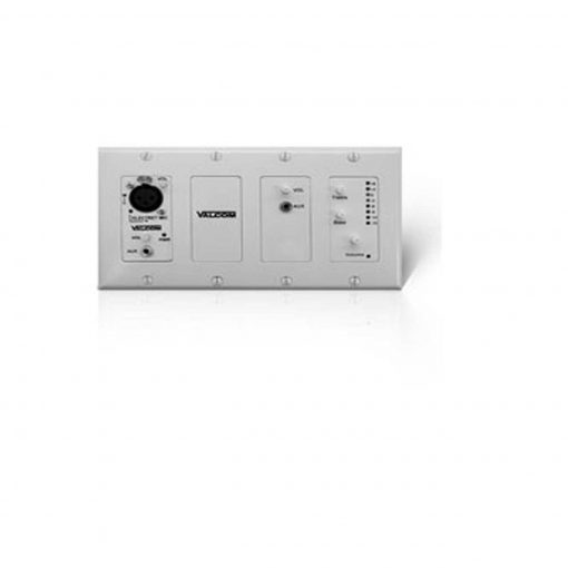 Valcom In-Wall Mixer w/Remote Input Module