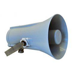 DNH - Explosion-Protected Zone 1 D-Chamber Aluminium Horn Loudspeaker 15 watt 100 volt (HS15EEXDNT)