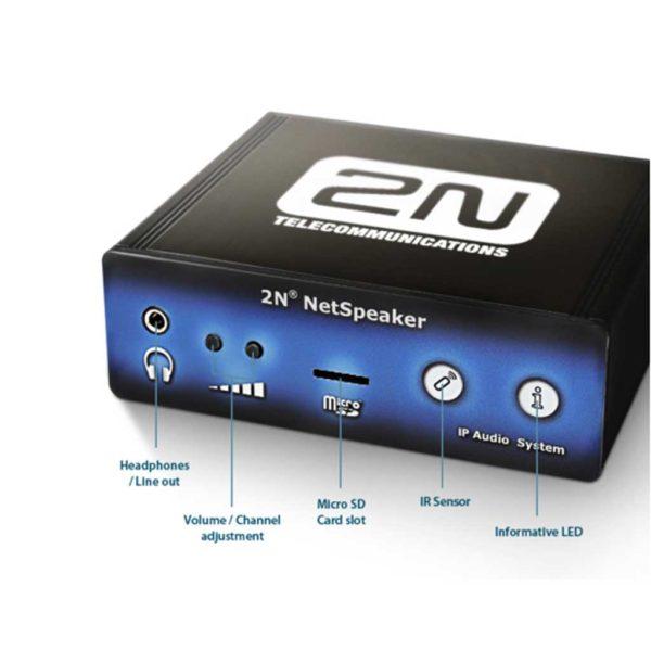 2N NetSpeaker - IP Audio Broadcasting Solution (914010E)