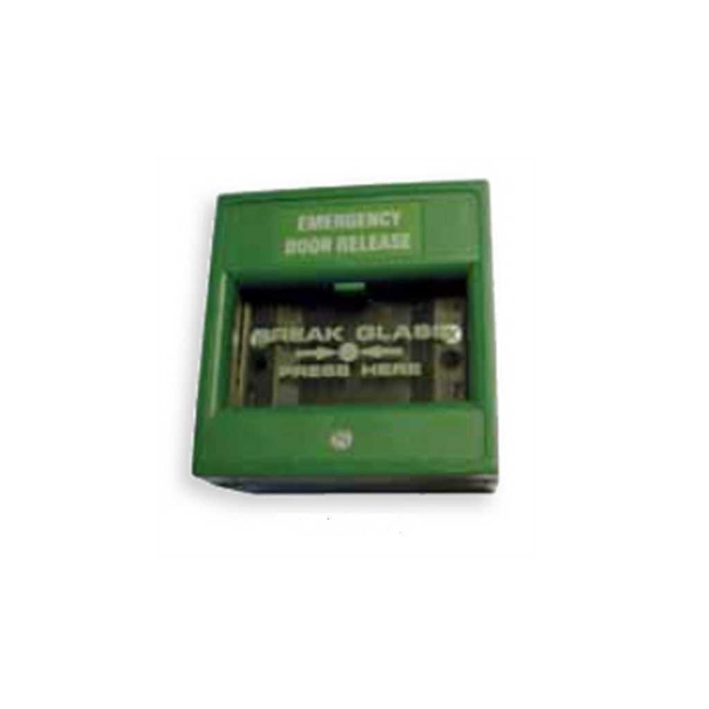 Break Glass Emergency Door Release Single Use Pv Em200gdb