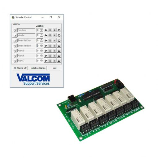Sounder Control and Relay Board (VAL-SC-1)