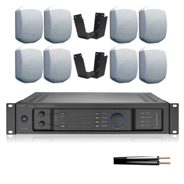 Cluster Speaker Kit with Amplifier and Cable - (VAL-SPK-KIT-9)