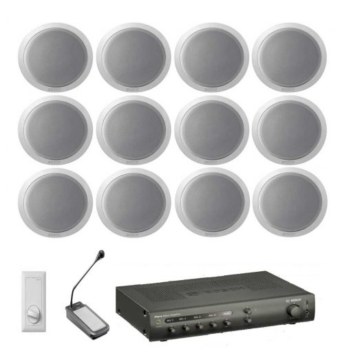 Bosch - 12 Speaker Kit with Amplifier & Microphone - (VAL-SPK-KIT-8)