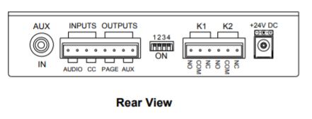 VIP-801A-IC Rear
