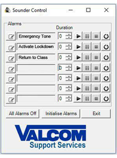 Valcom PC Application