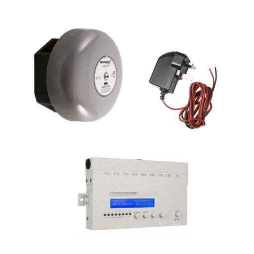 Bell, Timer and Power Supply