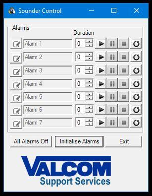 Valcom Sounder Software