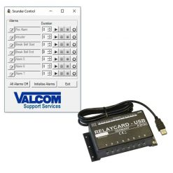 Lockdown Software and USB Relay Switch